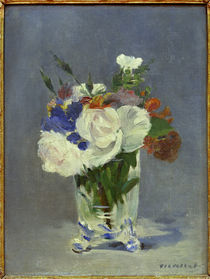 E.Manet, Flowers in a crystal vase by AKG  Images