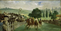 E.Manet, Horse races in Longchamp by AKG  Images