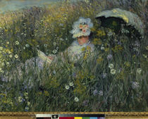 Claude Monet / In the Field / 1876 by AKG  Images