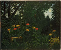 Rousseau, H. / Exotic lanscape/ 1907 by AKG  Images