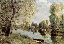 Sisley / Frühling in Moret-sur-Loing von AKG  Images