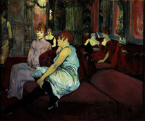 Toulouse-Lautrec, Salon Rue des Moulins by AKG  Images