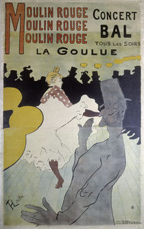 Toulouse-Lautrec / Moulin Rouge La G... by AKG  Images