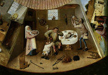 The Seven Deadly Sins and the Four Last Things / H. Bosch / c.1500 by AKG  Images