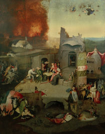 Temptation of St Anthony / H. Bosch / c.1490 by AKG  Images