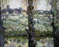 Van Gogh / Blick auf Arles/ 1889 von AKG  Images