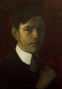 Macke, August / Self-portrait/ by AKG  Images
