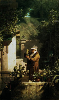Spitzweg / The Cactus Lover /  c. 1856 by AKG  Images