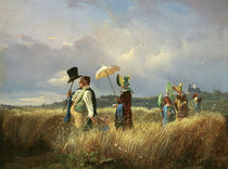 Spitzweg / The Sunday Walk / 1841 by AKG  Images