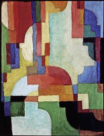 Macke / Farbige Formen I/1913 von AKG  Images