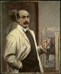 Max Liebermann, Selbstbildnis, 1909/10 von AKG  Images