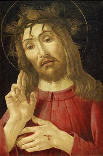 Workshop of Botticelli, Christ as Man of Sorrows by AKG  Images