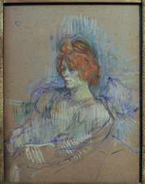 Toulouse-Lautrec / Woman in Armchair/1897 by AKG  Images