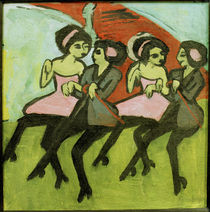 E.L.Kirchner / Panama Dancers / 1910 by AKG  Images
