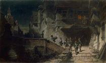 Carl Spitzweg, Die Scharwache/um 1875–78 von AKG  Images