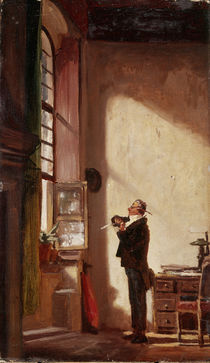 Carl Spitzweg, Der Schreiber/um 1855–60 von AKG  Images
