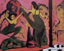 E.L.Kirchner, Drahtseiltanz von AKG  Images