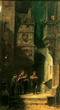 C.Spitzweg / The Quartet / Ptg. /  c. 1860 by AKG  Images