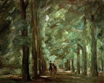 "M.Liebermann, ""Avenue in Sacrow with two riders"" / painting by AKG  Images"