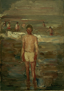 Max Liebermann / Boy Bathing / 1907 by AKG  Images