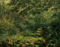 Renoir / Forest path /  c. 1875 by AKG  Images
