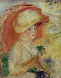 Renoir / Woman with parasol / 1883/85 by AKG  Images