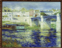 Renoir / Bridge of Chatou / 1875 by AKG  Images