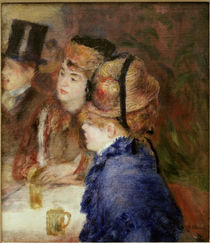 Renoir / In the cafe. The drinkers /1877 by AKG  Images