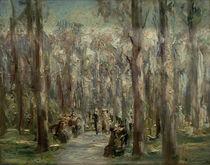 """M.Liebermann, """"Tiergarten"""", Berlin / painting by AKG  Images"""