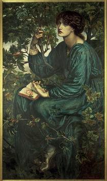 Dante G. Rossetti, The Daydream/ 1880 von AKG  Images