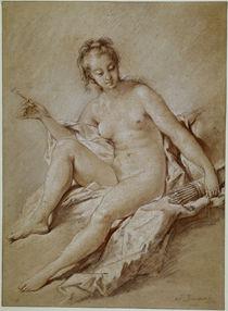 F.Boucher, Venus mit Pfeil und Köcher von AKG  Images