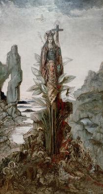 Gustave Moreau / Fleur mystique /  c. 1890 by AKG  Images