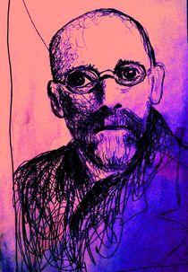Portrait Janusz Korczak Nr. 2 von Matthias Kronz
