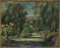 Renoir / Paysage de Cagnes / 1900 by AKG  Images