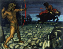 F. von Stuck, Herkules und Nessos von AKG  Images