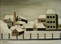 Carl Grossberg, Fabriklandschaft 1923 by AKG  Images