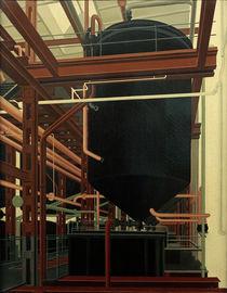 Carl Grossberg, Ölraffinerie von AKG  Images