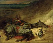 E.Delacroix, Zeit tote Pferde von AKG  Images
