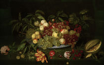 Bosschaert / Fruit Still Life / Painting by AKG  Images