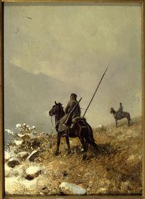 P.N.Grusinski, On Patrol / painting by AKG  Images