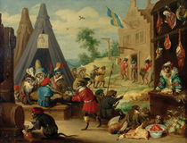 Teniers the Younger / Monkey Festival by AKG  Images