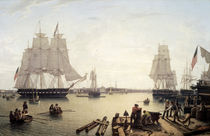 Boston Harbor / Robert Salmon von AKG  Images