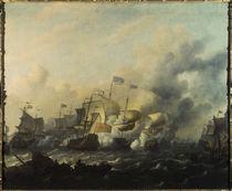 Engl.–holländ. Seekrieg 1673 von AKG  Images