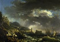 C.J.Vernet, Der Schiffbruch von AKG  Images