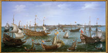 Friedrich V. v. d. Pfalz in Vlissingen 1613 by AKG  Images