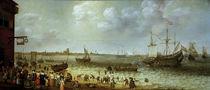 Adam Willarts, Maas bei Den Briel 1633 von AKG  Images