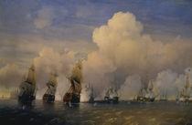 Seeschlacht bei Kronstadt 1790 / Bogolj. von AKG  Images