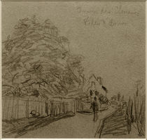 A.Sisley, Chemin des Closeaux in Ville d'Avray by AKG  Images