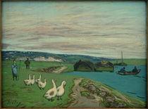 A.Sisley, Die Gänsehirtin von AKG  Images