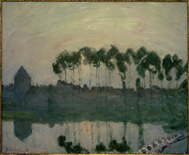A.Sisley, Sonnenuntergang bei Moret by AKG  Images